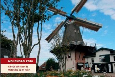 De nieuwe molenmail editie 1-2016 is weer uit
