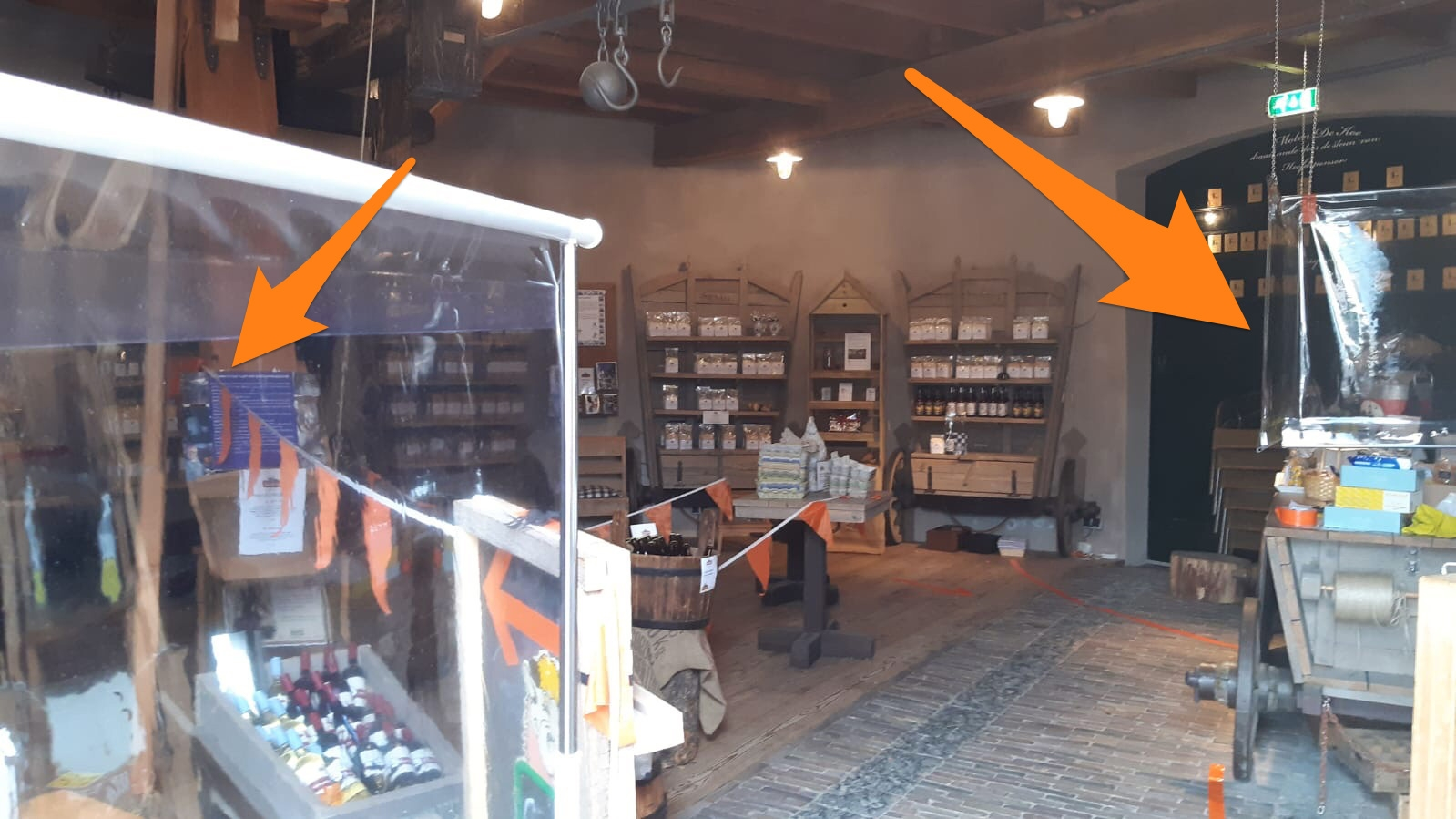Molenwinkel op zaterdag weer open
