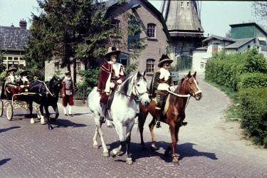 Historische foto,s fam. Koetsier o.a. Molenbrand
